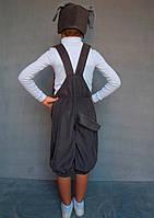 Карнавальный костюм Собачка №1 (тёмно-серый), фото 2