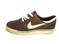 Мужские кроссовки Nike Toki Low TXT (Brown), фото 1