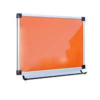 Доска офисная магнитно-маркерная цветная 100х70 см в алюминиевом профиле (Doski.biz)