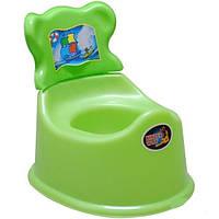 Детский Горшок 25-002 со спинкой Kinder Way