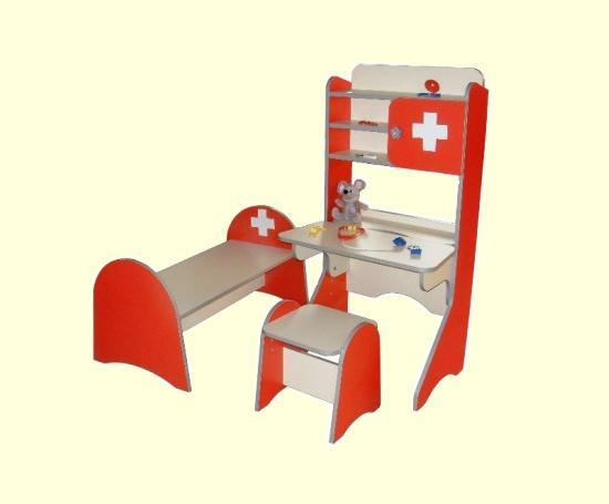 Детская игровая стенка Больница. W336