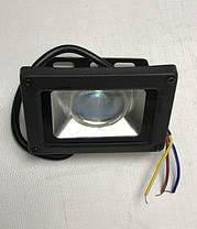 Светодиодный прожектор синий с линзой 10W 12-24В IP65 Код.59311, фото 3