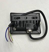 Светодиодный прожектор синий с линзой 10W 12-24В IP65 Код.59311, фото 2