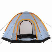 Палатка трекинговая однослойная Treker MAT-111 пятиместная , фото 1