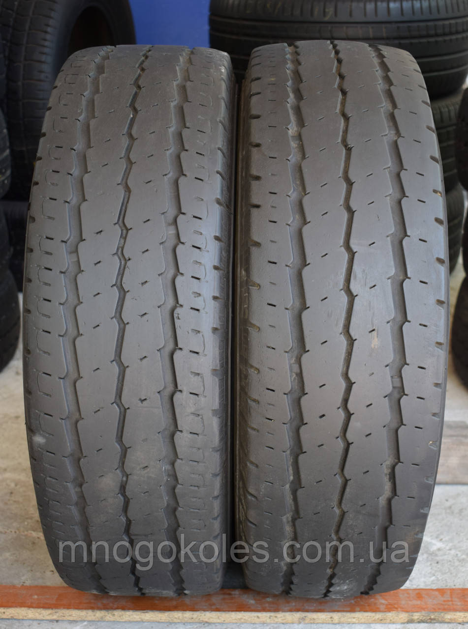 Шины б/у 215/75 R16С Continental Vanco 10, пара, 5 мм