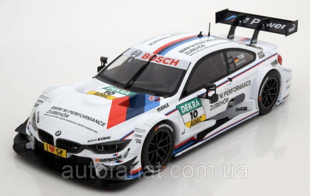 Оригінальна модель автомобіля BMW M4 (F82), Marco Wittmann, #1 DTM 2015 Team RMG (80432405593)