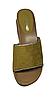 Женские шлепанцы на танкетке цвет горчичный, фото 3