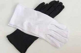 Перчатки для продавцов ювелирных изделий и часов
