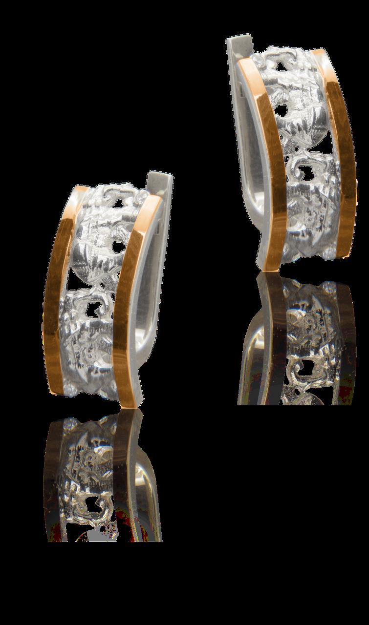 Сережки срібні Юр'їв 253 с