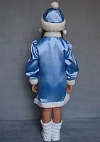 Карнавальный костюм Снегурочка №3 (голубой), фото 3