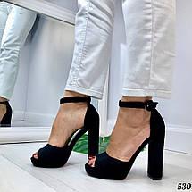 Босоножки на высоком каблуке, фото 3