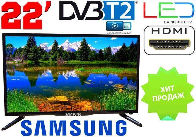 Телевизор 22 дюйма Samsung Т2 12/220 вольт