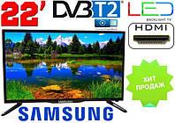 Телевизор 22 дюйма Samsung Т2 12/220 вольт, фото 1