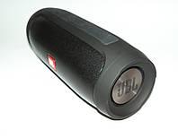 JBL Charge 4 E4 20W copy, блютуз колонка с фм и флешкой, черная. | AG320011