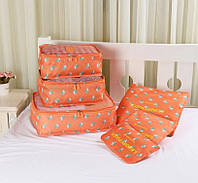 Набор Органайзеров 3+3 (Оранжевый), Набір органайзер 3 + 3 (Помаранчевий), Органайзеры для вещей и обуви