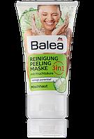 Balea очищающая маска для лица с фруктовыми кислотами 3в1 Reinigung Peeling Maske 3in1 150ml