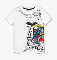 Летняя футболка на мальчика с Бэтменом C&A Размер 122
