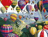 Картины по номерам / обложка. Воздушные шары 40х50см арт. КНО1056