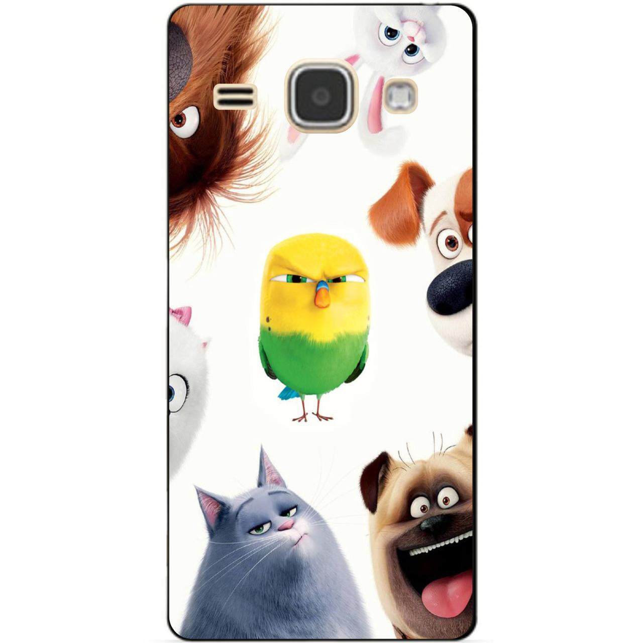 Чехол силиконовый бампер для Samsung J120 Galaxy J1-2016 с рисунком Тайная Жизнь Домашних Животных