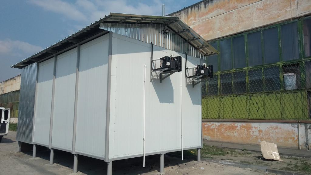 Низкотемпературная камера для хранения мороженного! Mr.Pops (г.Киев)