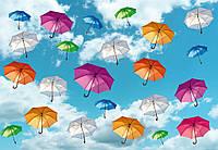 Фотообои 3D 368х254 см (флизелин, бумага) Полет зонтов (5025WG)