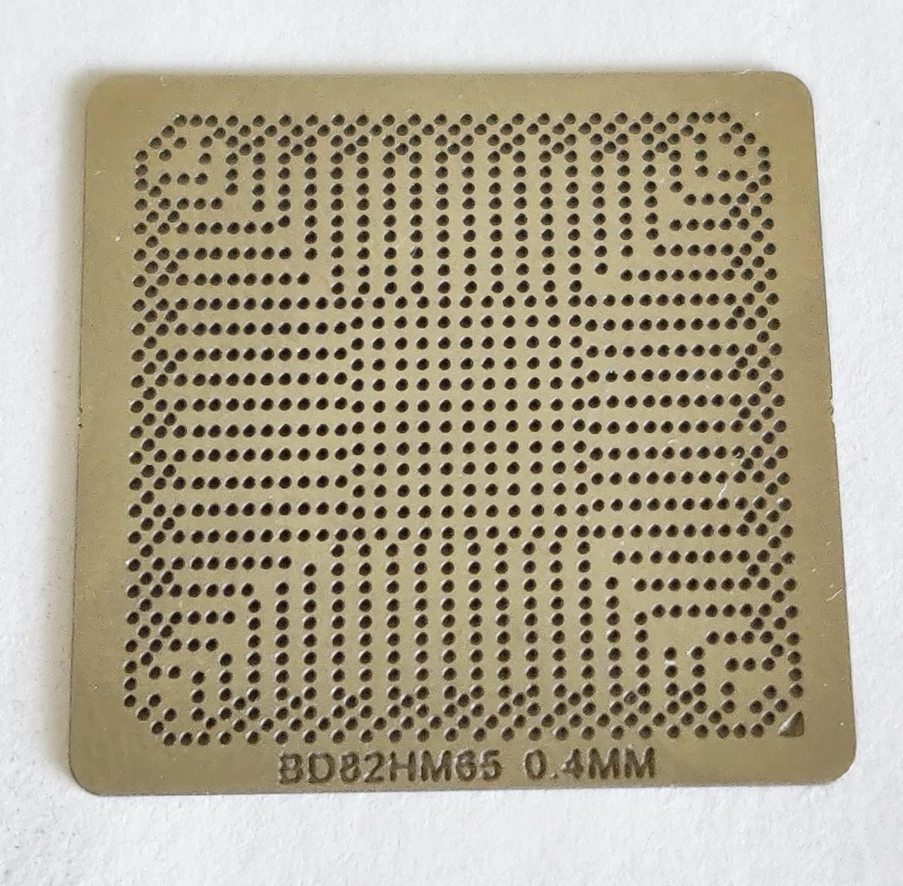 Трафарет BGA BD82HM65, BD82HM65, BD82HM67, BD82HM77, BD82HM76, BD82QM67, BD82HM70, BD82PM55.