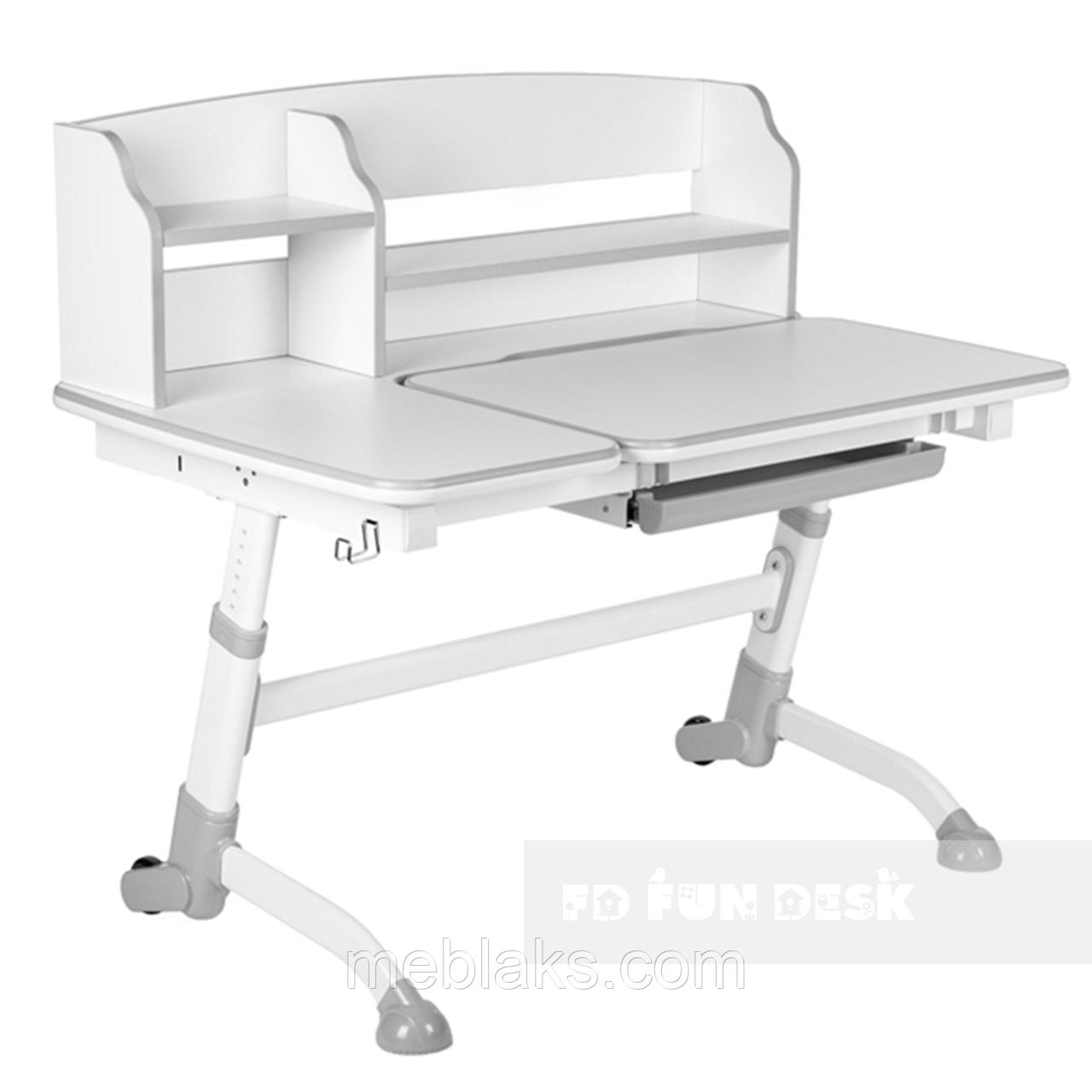 Стол-парта трансформердля дома FunDesk Amare II Grey