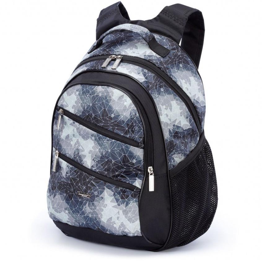 Шкільний чорний рюкзак (ортопедичний) / Школьный черный портфель (ортопедический)