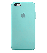 Чехол (copy) на iPhone 5 / 5S / SE Silicone Case Ocean Blue