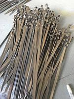 Шампур 50 см, 10 мм ширина, 1,5 мм толщина,  уголком нержавейка, оптом и в розницу