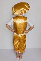 Карнавальный костюм Гриб Лисичка (мальчик), фото 3