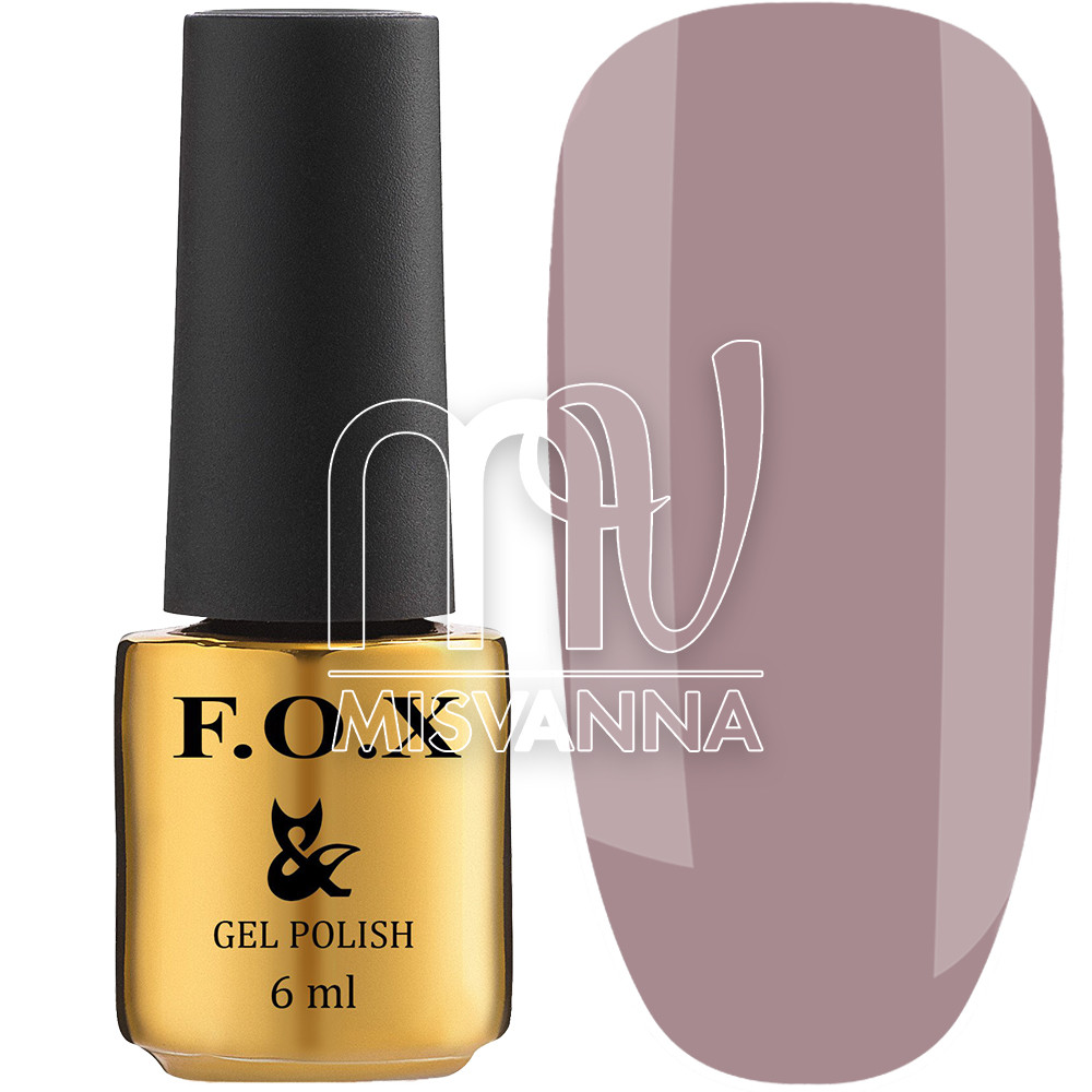 Гель-лак F. O. X №506, 6 мл сіро-рожевий