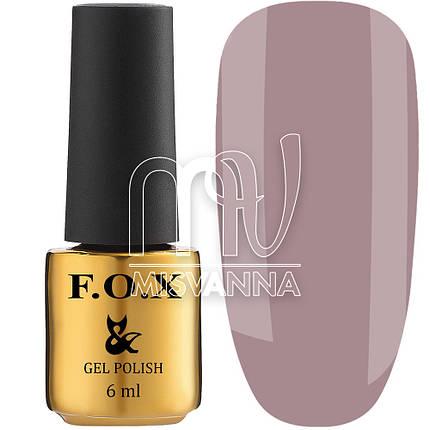 Гель-лак F. O. X №506, 6 мл сіро-рожевий, фото 2