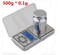 Кишенькові цифрові міні ваги MH-500 SKU0000158