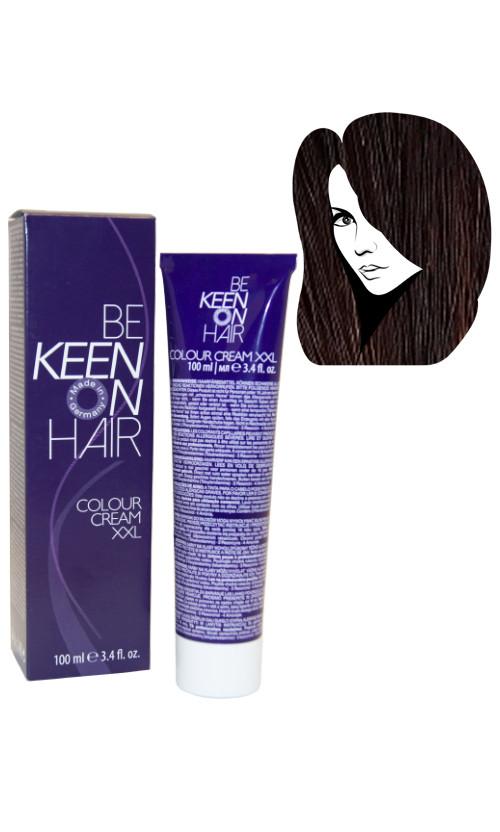 Keen Colour Cream Крем краска для волос 6.00 темно русый для седых