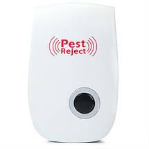 Ультразвуковой отпугиватель грызунов и насекомых Pest Reject Ultrasonic Электро магнитный, фото 2
