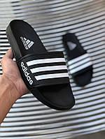 Сланцы. Шлёпанцы мужские  Adidas (шльопанці). ТОП КАЧЕСТВО !!! Реплика класса люкс., фото 1