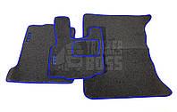 Велюровые коврики Daf xf 105 Синие (Автомат)