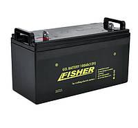 Гелевый аккумулятор Fisher100Ah 12B.