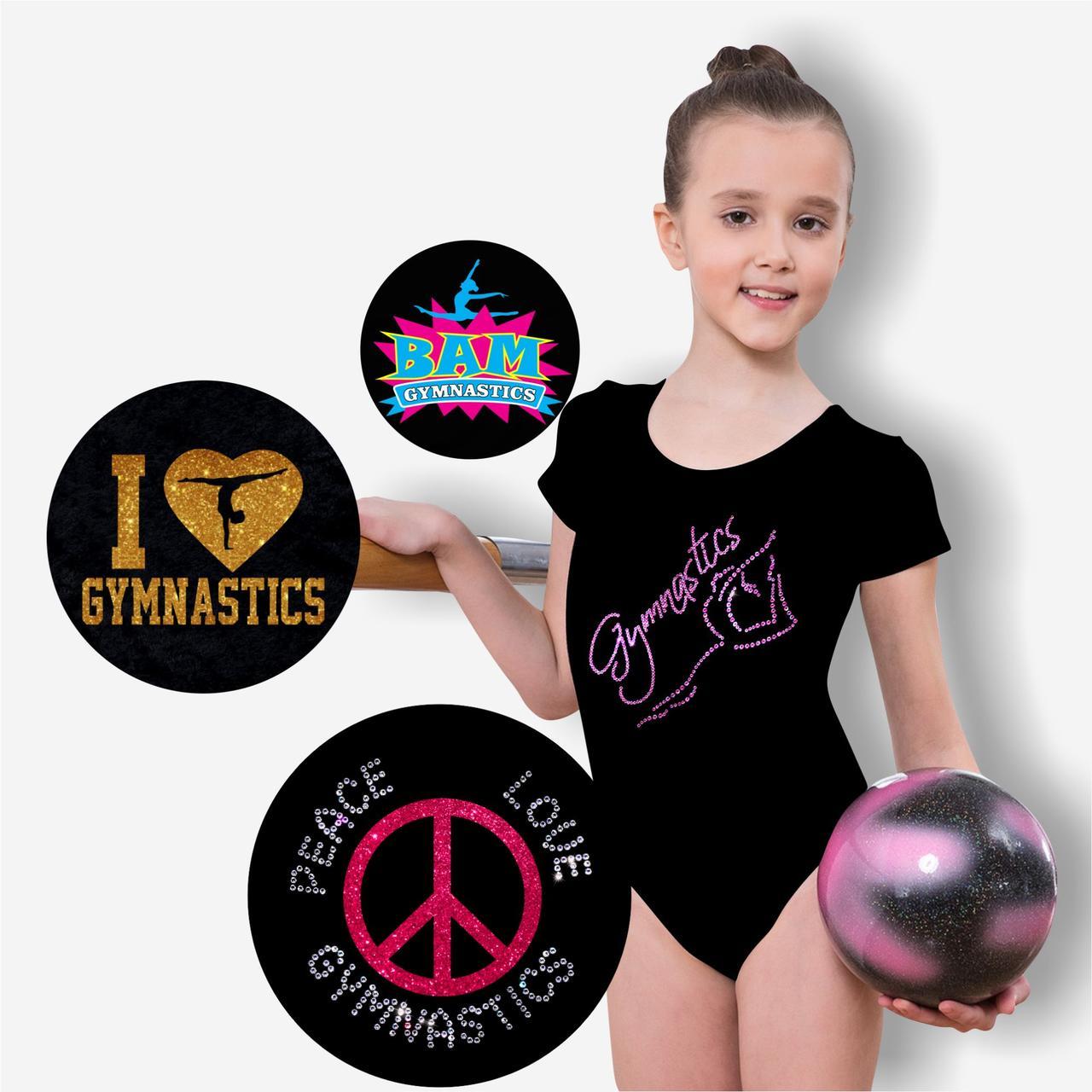 Подбор/Разработка дизайнов декора для гимнастической одежды и аксессуаров (фото в описании)