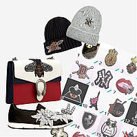 Подбор/Разработка дизайнов декора для женской обуви, сумок, шапок, аксессуаров (фото в описании), фото 1
