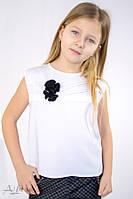 Топ детский школьный с коротким рукавом 5020  ТМ Albero Размеры 122- 146