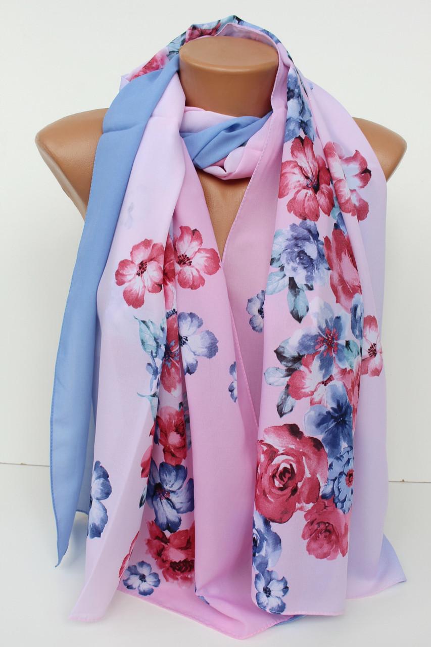 """Шифоновий шарф """"Шері"""" 171-32"""