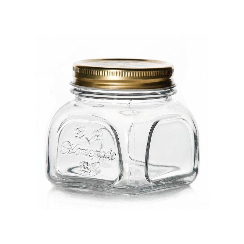 Банка стеклянная с металлической крышкой Homemade 300мл