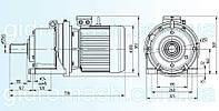 Планетарный мотор-редуктор 3МП-63, фото 1