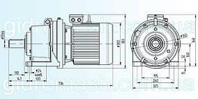 Планетарний мотор-редуктор 3МП-63