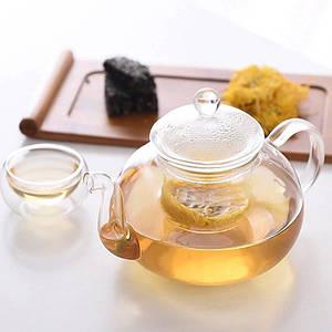 Заварочный чайник со стеклянным фильтром Wilmax Thermo 800 мл WL-888813