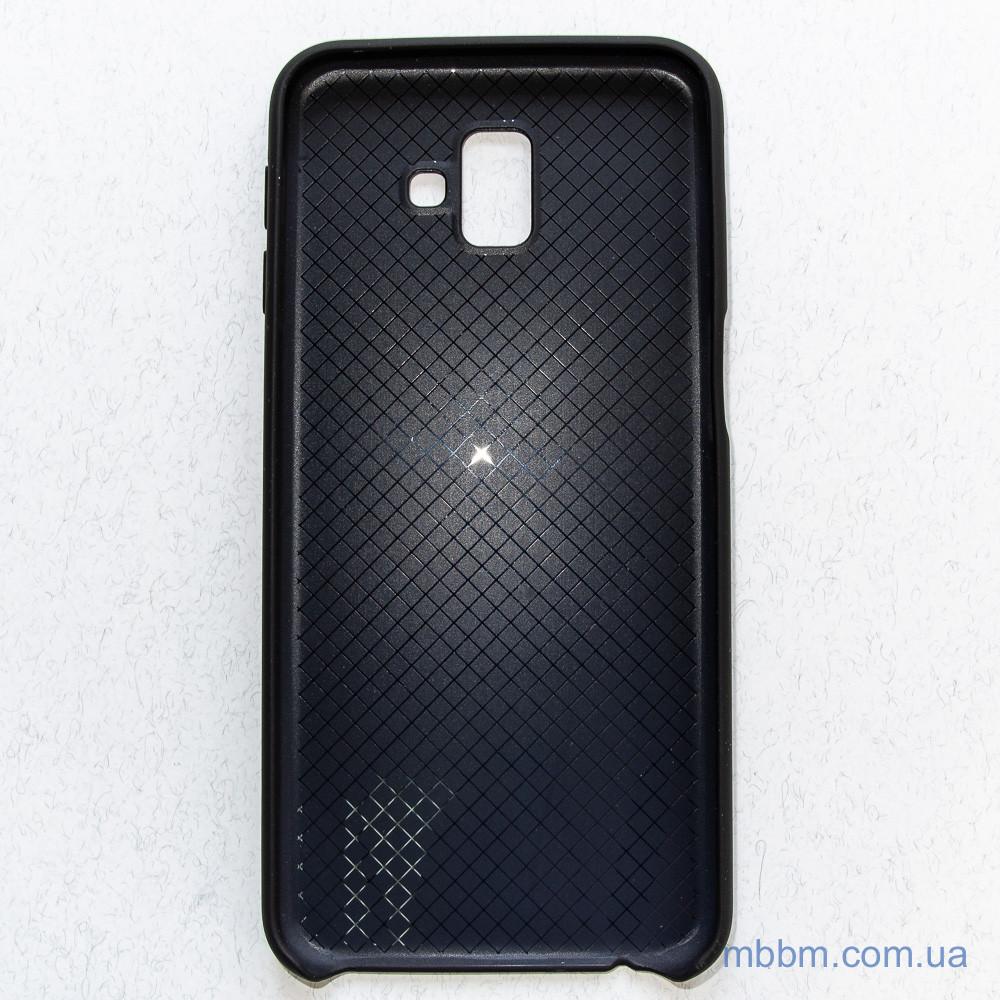 TPU Deen Samsung Galaxy J6 Plus black J6+ (J610) 2018