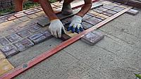 Укладка ФЭМа (тротуарной плитки)