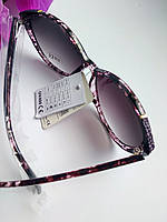 """Женские классические солнцезащитные очки """"бабочки"""" фиолетового оттенка (052)"""